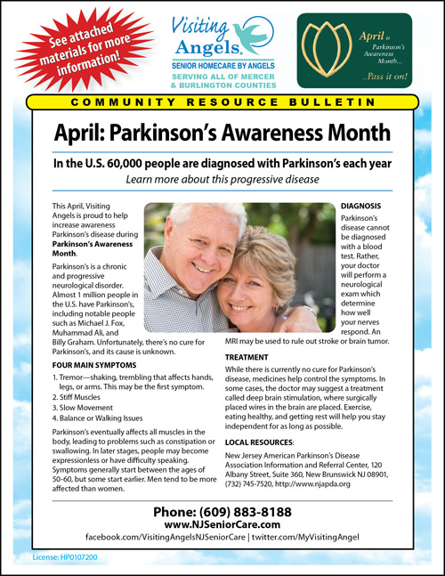 Personal Care for Parkinsons