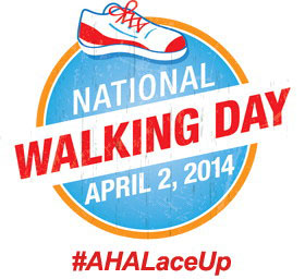 American Heart Association National Walking Day