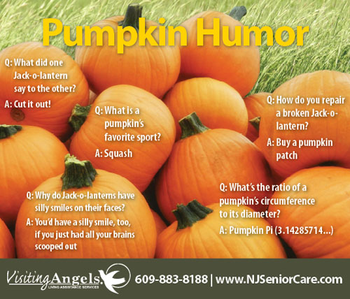Pumpkin Humor from Visiting Angels