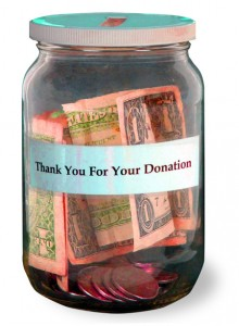 Boomers donate to charity