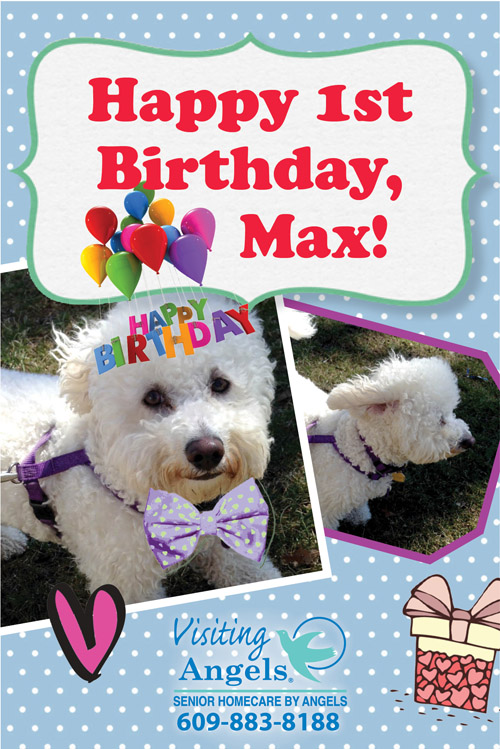 Max's first birthday