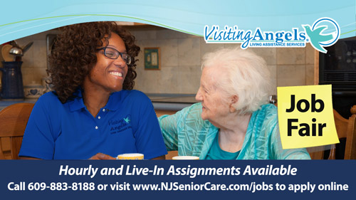 Visiting Angels Job Fair Lawrenceville, New Jersey Senior Care