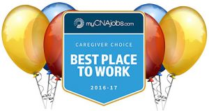 Visiting Angels Voted Best Place to Work by Caregivers Nationwide