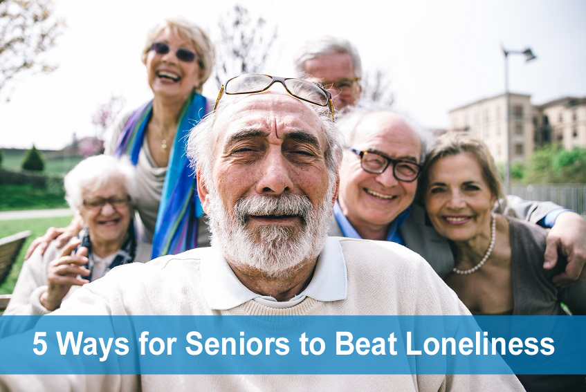 5 Ways for Senior to Prevent Loneliness and Depression - New Jersey Senior Care