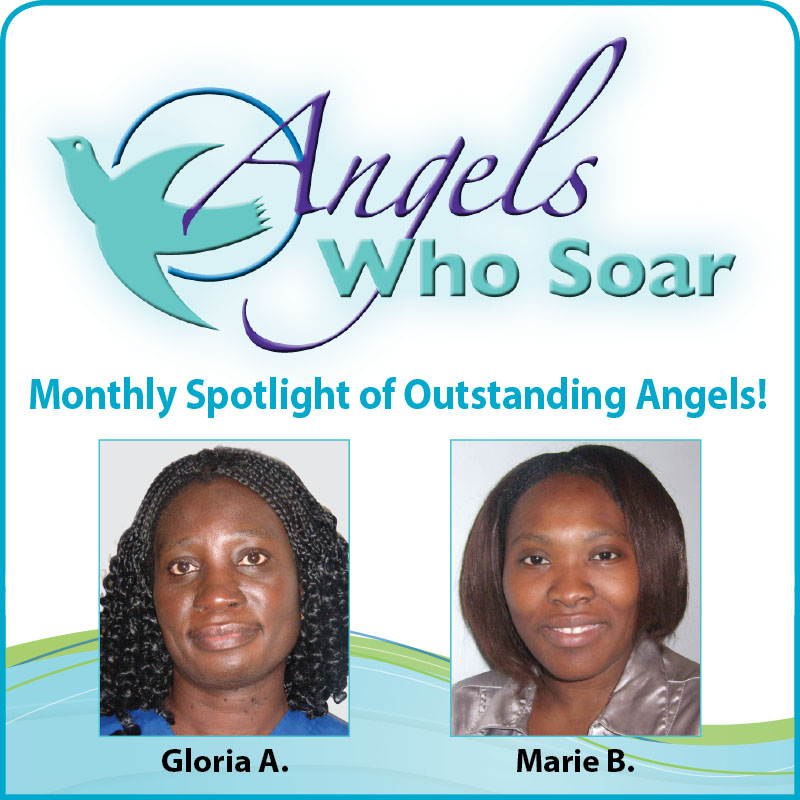 Outstanding Employees at Visiting Angels of Mercer and Burlington Counties NJ