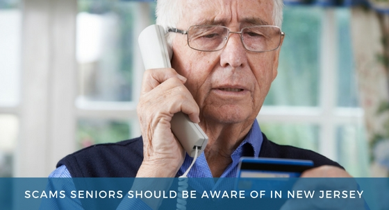 Scams Seniors Should Be Aware of in New Jersey