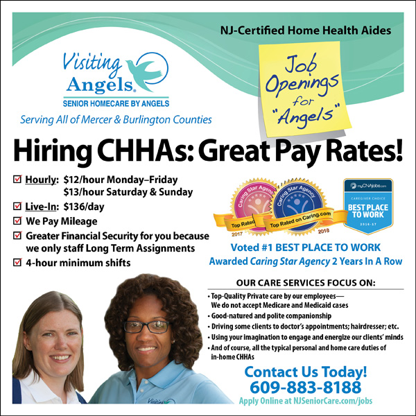 Hiring CHHAs in Central NJ | Visiting Angels